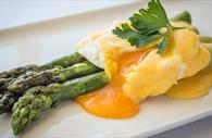 Egg and Asparagus (Copyright David Griffin)