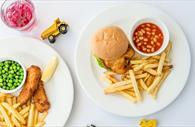 Childrens meals (Copyright David Griffin)