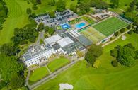 Aerial view of EGCC