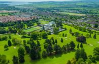 Aerial view of the Exeter golf and country club