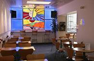 The Cafe. Copyright: Tony Howell
