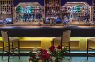 Bar at Langstone Cliff Hotel