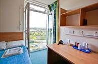 Holland Hall Bedroom - University of Exeter