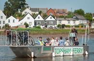 Topsham Ferry (c) Devon County Council