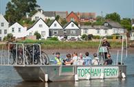 Exe Estuary Trail, Topsham Ferry (c) DCC