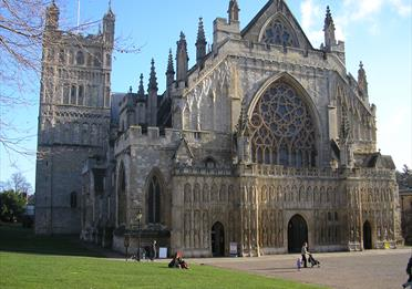 Exeter Cathedral-photo supplied by Sarah Firth DCC