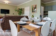 Living area. Exeter Self Catering, Exeter Serviced Apartments,