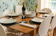 The Dining area. Exeter Self Catering, Exeter Serviced Apartments,