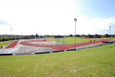 Exeter Arena - Track
