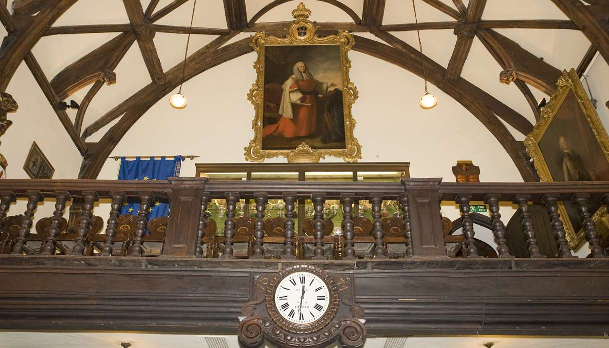 Exeter Guildhall interior