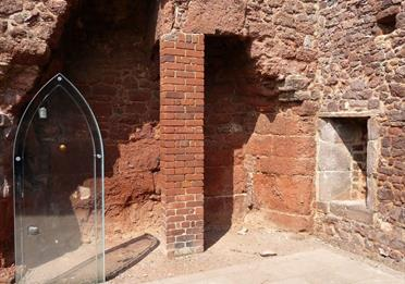 Part of Exeter Medieval Trail