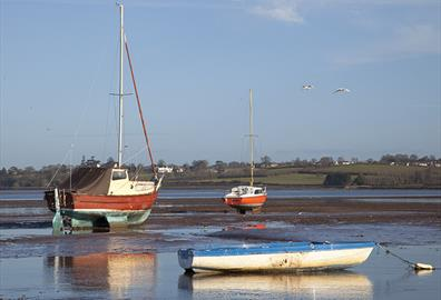 Boats at Exmouth