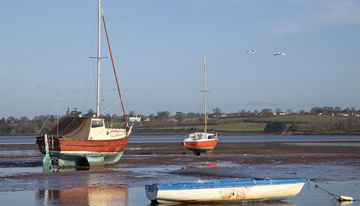 Boats at Exmouth