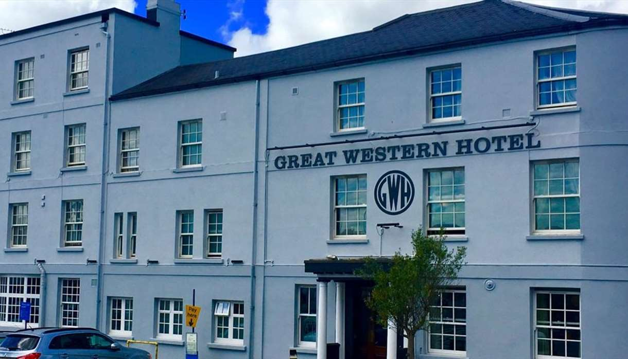 Exterior of Great western hotel