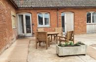 Courtbrook Farm courtyard