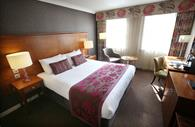 Mercure Southgate Hotel, Kingsize room and desk