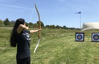 Archery at Exeter Quay