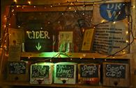 Cider bar in The Old Firehouse