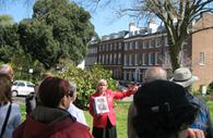One of Exeter's Red Coat Tours