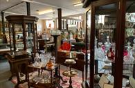 Room filled with antiques and collectables