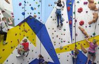 Ladram Bay Holiday Park, climbing wall