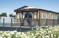 External of Lodge at Crealy