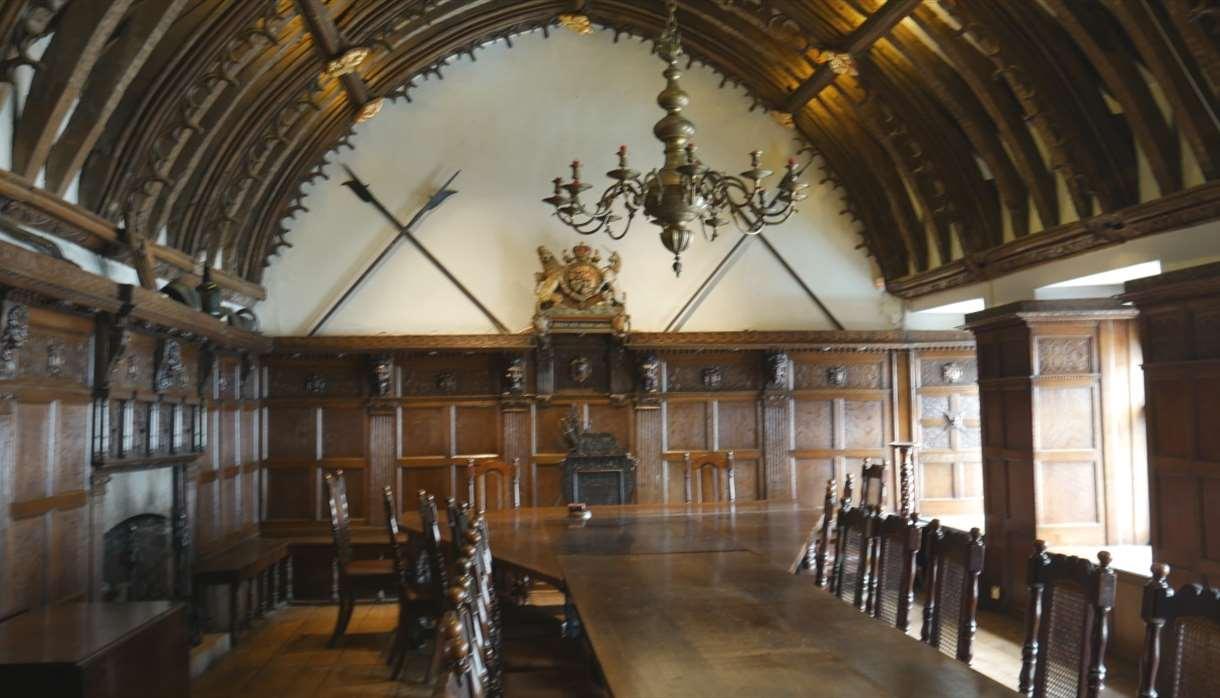 Tucker's Hall - internal