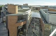Princesshay Shopping Centre - Ariel view