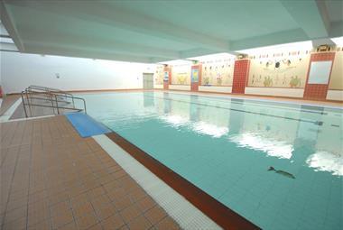Pyramids swimming pool