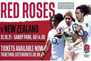 England Red Roses vs New Zealand
