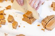 Chopping fudge