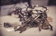Room Keys closeup