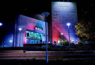 Exeter Northcott theatre exterior