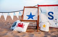 Sails and Canvas products being used on the beach