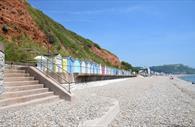 Seaton Beach and Beach Huts