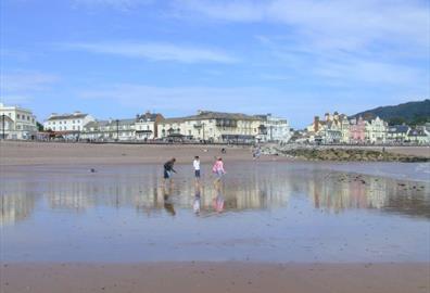 Sidmouth town beach