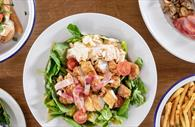 Taste of South Street salad, chips and breakfast