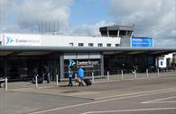 Exterior of the Airport entrance