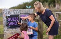 Family enjoys The Donkey Sanctuary's entertaining activity trail