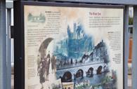 Tiverton merchants' Trail - signage