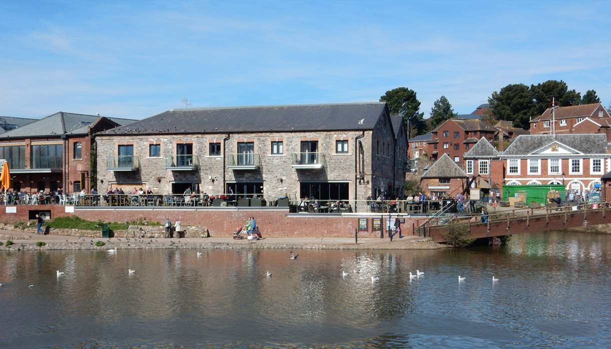 Curious About Exeter - Exeter Quayside