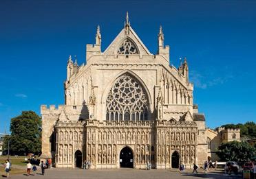 Exeter Cathedral West Front