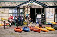 Saddles and Paddles kayaks