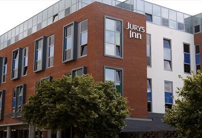 Exterior of Jury's Inn