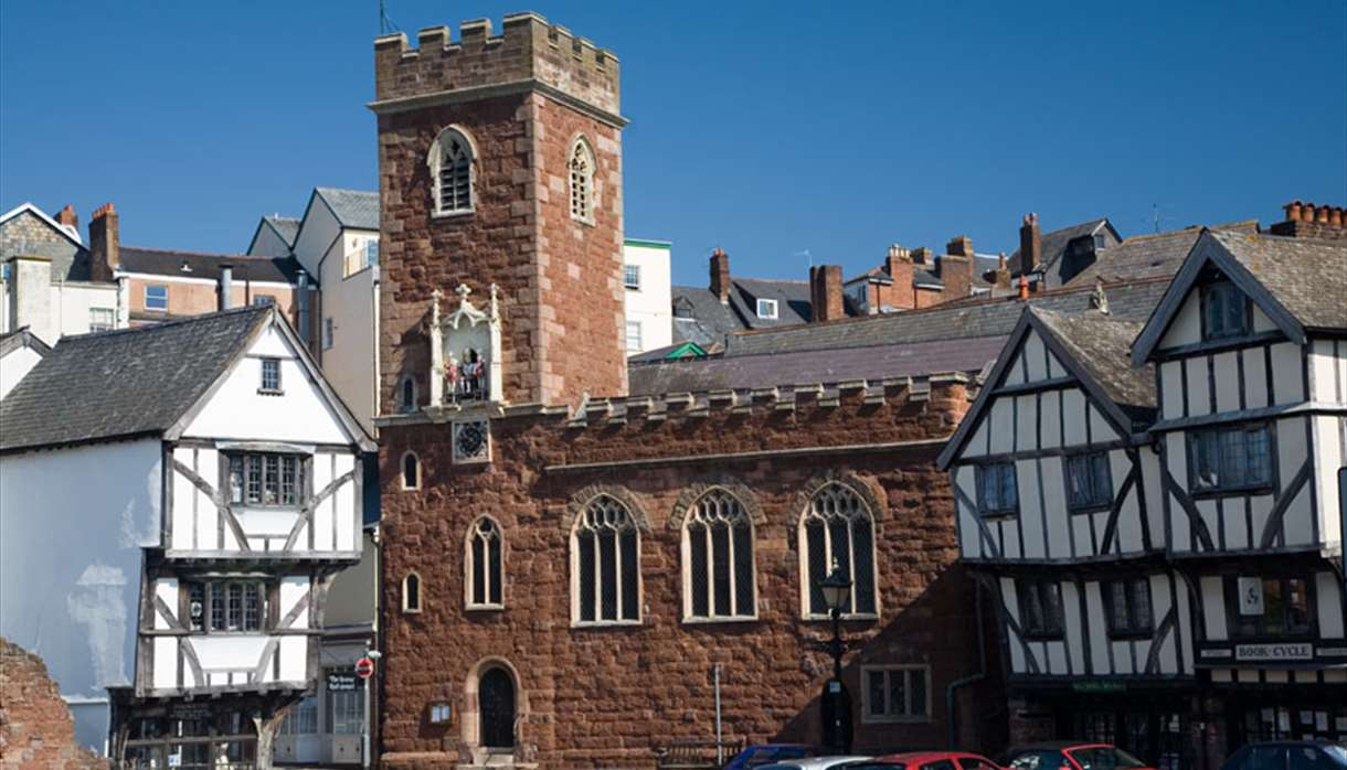 St Mary Steps Church, Exeter