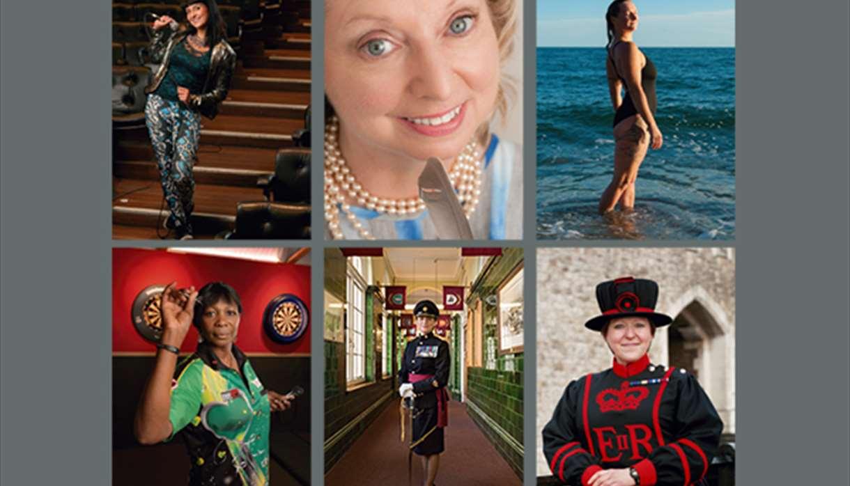Anita Corbin - 100 First Women Portraits