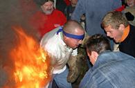 Fire at Ottery Tar Barrels
