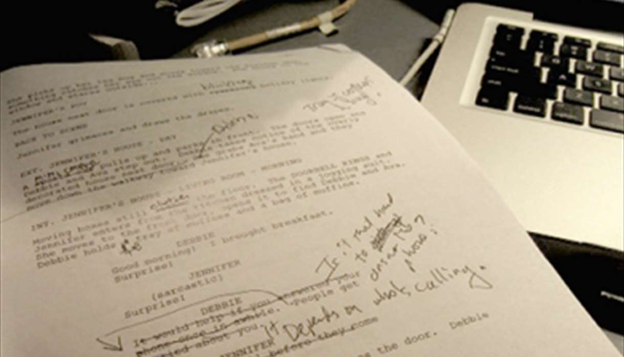 Script with edits
