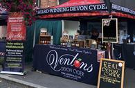 Ventons Devon Cyder Trade Stand