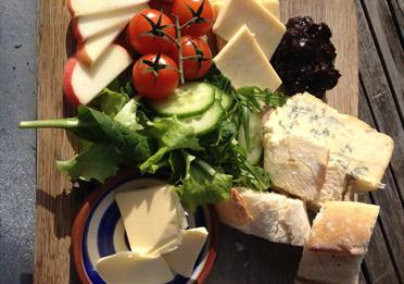 RAMM Café  cheese board